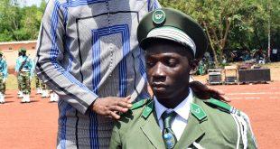 Sortie de la 59ème promotion des élèves eaux et forêts de l'école de Bobo-Dioulasso: Le Ministre Bachir co-parraine la promotion «Ténacité»