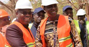 Projet de renforcement de la centrale thermique de Kossodo: Le Ministre de l'Energie satisfait de l'avancée des travaux