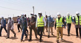 Projet d'électricité des zones péri-urbaines(PEPU): Le ministre de l'énergie, Dr Bachir Ismaël OUEDRAOGO satisfait des réalisations