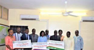 Concours Innovation Énergie SERRA 2020 : Les trois lauréats ont reçu leurs prix.